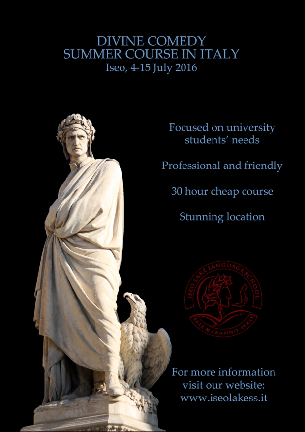 Divine Comedy summer course 2016